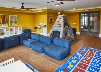 Playroom at the Station at Lyndhurst apartments in NJ