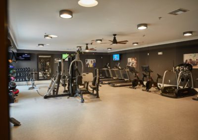 on-site fitness center for The Winston at Lyndhurst apartments in NJ